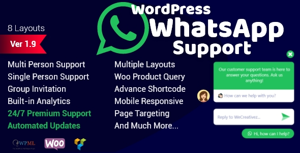 WordPress WhatsApp Support Download