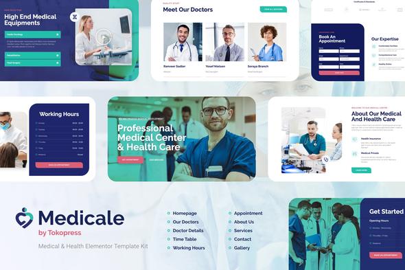 Medicale | Medical & Health Elementor Template Kit