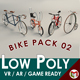 Low Poly Bike Pack 02 - 3DOcean Item for Sale