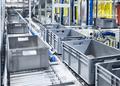 Modern box conveyor system. - PhotoDune Item for Sale