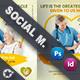 Home Care Social Media Templates - GraphicRiver Item for Sale