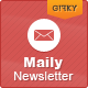 Maily Newsletter - ThemeForest Item for Sale