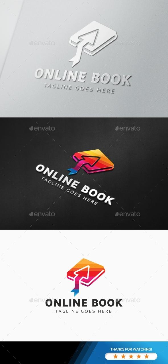 Online Book Education Logo