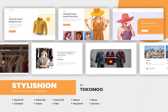 Stylishion | Fashion Elementor Template Kit