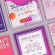Premium Social Media Discount Banners - GraphicRiver Item for Sale