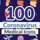 Corona Virus Icons - VideoHive Item for Sale