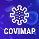 CoviMap - Coronavirus (Covid-19) Medical Prevention Template - ThemeForest Item for Sale