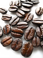Сoffee beans on white background - PhotoDune Item for Sale