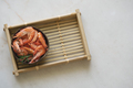 Shrimps with herbs in coconut bowl - PhotoDune Item for Sale