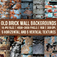 Old Brick Wall Backgrounds - GraphicRiver Item for Sale