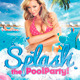 Splash Pool Party Flyer Template - GraphicRiver Item for Sale