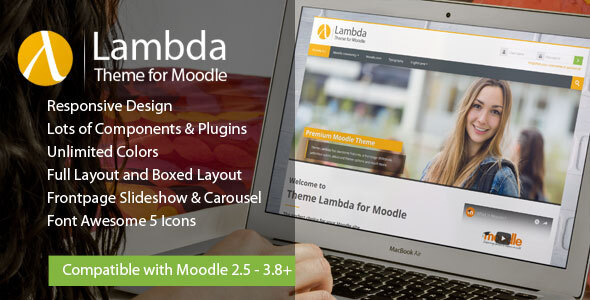 Lambda - Responsive Moodle Theme 4