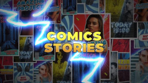 Comics Instagram Stories