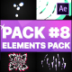 Flash FX Elements Pack 08   After Effects - VideoHive Item for Sale