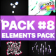 Flash FX Elements Pack 08   FCPX - VideoHive Item for Sale