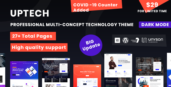 Uptech -  IT Solutions & Services WordPress Theme 4