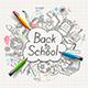 Back to School Concept Doodles - GraphicRiver Item for Sale