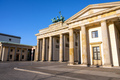 The Brandenburger Tor in Berlin early in the morning - PhotoDune Item for Sale
