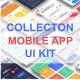 Unique Mobile App UI Kit - GraphicRiver Item for Sale