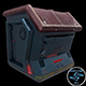 Sci-fi Crate (Container, Box) - Openable Door - Low Poly - 3DOcean Item for Sale