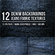 Denim Background Jeans Fabric Textures - GraphicRiver Item for Sale