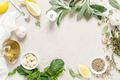 Culinary background with herbs and spices - PhotoDune Item for Sale