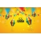 Festa Junina Illustration with Party Flags - GraphicRiver Item for Sale