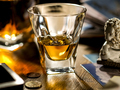Dram of whisky on the table - PhotoDune Item for Sale