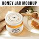 Honey Jar Mockup - GraphicRiver Item for Sale