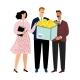 Teamwork Brainstorming Business Illustration - GraphicRiver Item for Sale