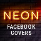 Neon Facebook Covers - GraphicRiver Item for Sale