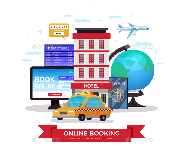 Travel Tourism Booking Composition