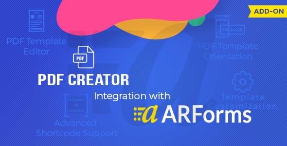 Pdf creator for Arforms Download