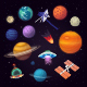 Solar System Vector Images - GraphicRiver Item for Sale