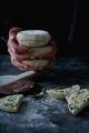 Traditional Portuguese flat circular bread Bolo Do Caco - PhotoDune Item for Sale