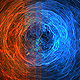 4K Spiral Pack 2in1 Loop Backgrounds Fire And Plasma - VideoHive Item for Sale