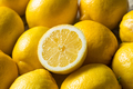 Raw Organic Yellow Lemons - PhotoDune Item for Sale