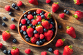 Raw Organic Assorted Fresh Berries - PhotoDune Item for Sale