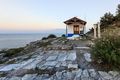 church in head of Evreokastro. Thassos, Greece - PhotoDune Item for Sale
