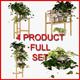 Flower Bed Set IKEA - 3DOcean Item for Sale