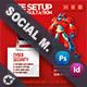 Computer Service Social Media Templates - GraphicRiver Item for Sale