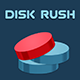 Disk Rush - HTML5 Game (Construct 3   C3p) - Arcade Game str8face - CodeCanyon Item for Sale