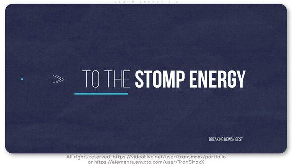 Stomp Energy 1.0