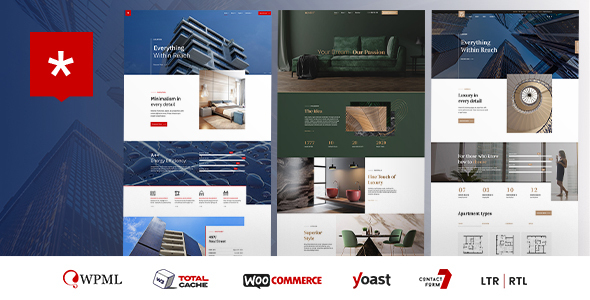 Nestin - Real Estate WordPress Theme