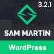Sam Martin - Personal vCard Resume WordPress Theme - ThemeForest Item for Sale