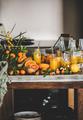 Fresh fruit vitamin immune boosting drink over kitchen counter - PhotoDune Item for Sale