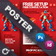Computer Service Poster Templates - GraphicRiver Item for Sale