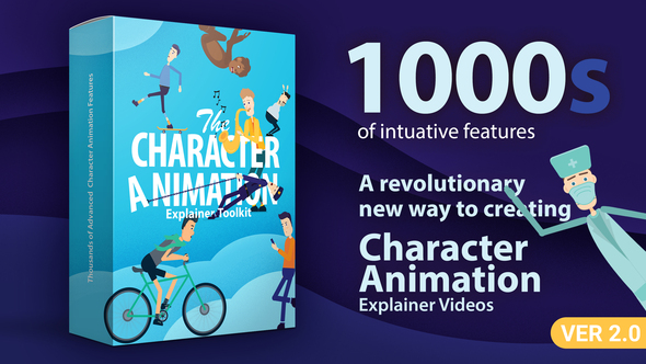 Character Animation Explainer Toolkit