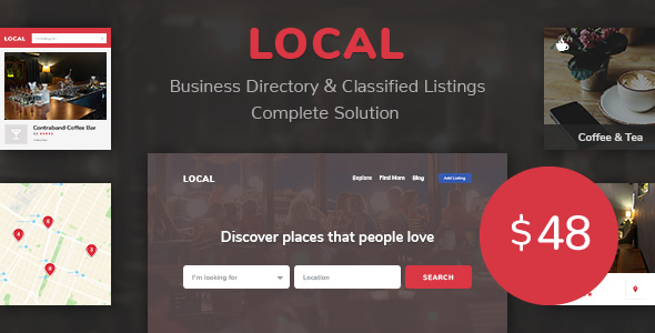 Business Directory Store Finder | Local Download