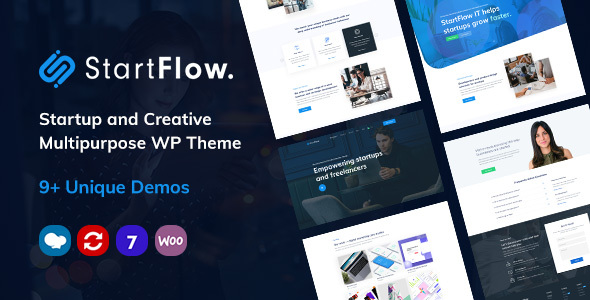 StartFlow | Responsive Multipurpose WordPress Theme